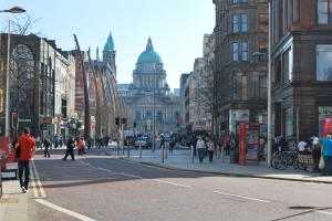 City Hall and Donegall Place