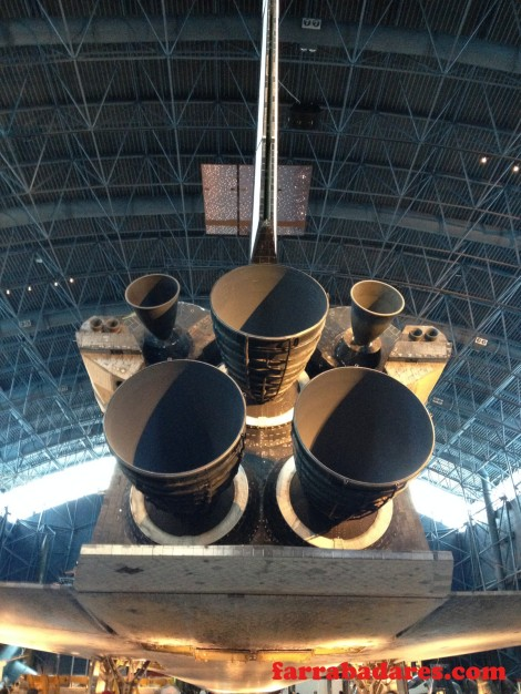 Nave espacial Discovery - Air and Space Museum em Chantilly