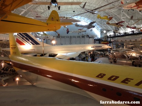 Concorde - Air and Space Museum em Chantilly