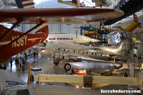 O bico do Concorde - Air and Space Museum em Chantilly - foto by Felipe Amorim