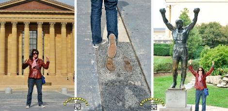 Momento Rocky Balboa - Philadelphia - Museu de Arte