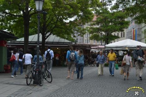 Viktualienmarket - Munique