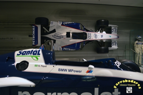 BMW Museu, Munique - o F1 de Nelson Piquet