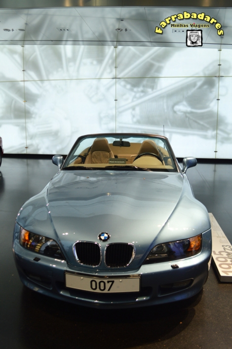 BMW Museu, Z3 o carro de James Bond - Munique